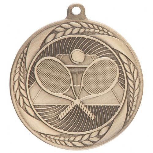 Typhoon Tennis Medal Gold 55mm